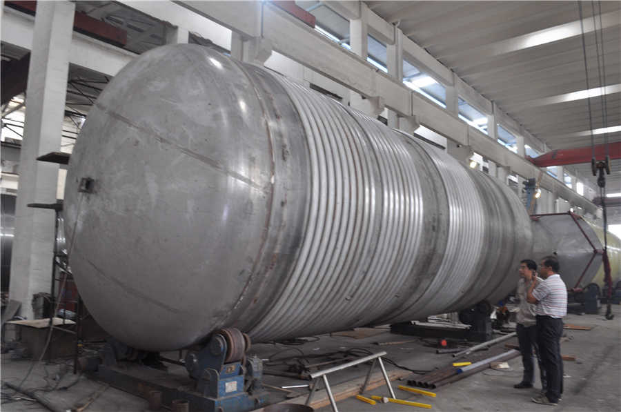 200吨发酵罐罐体