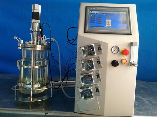 玻璃发酵罐(双壁离位灭菌)