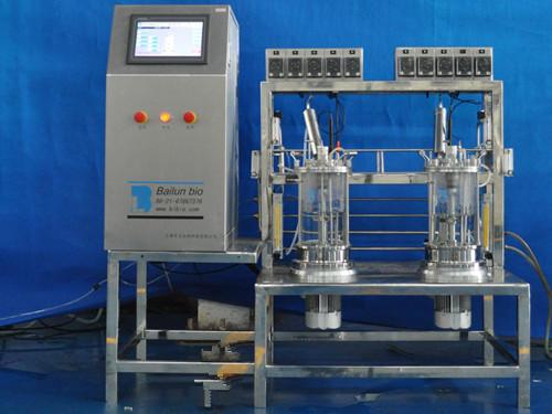 二联玻璃发酵罐(组合式)