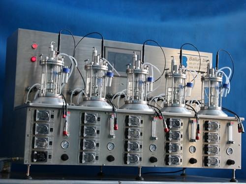 五联离位灭菌玻璃发酵罐