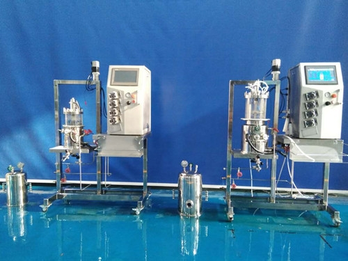 原位灭菌机械搅拌玻璃发酵罐(立式)