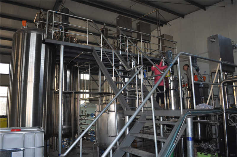 5T fermenter system 2 sets (stainless steel two platfor