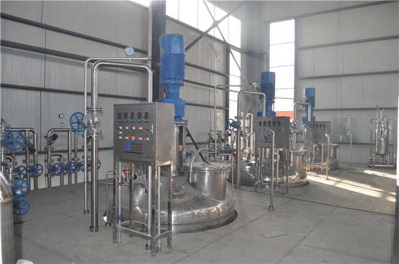 10T fermenter system 3 sets