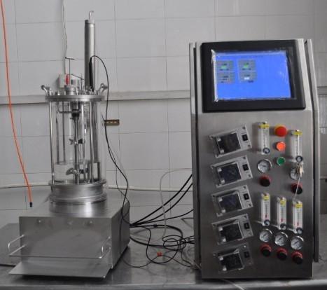 Animal cell bioreactor (magnetic transmission)