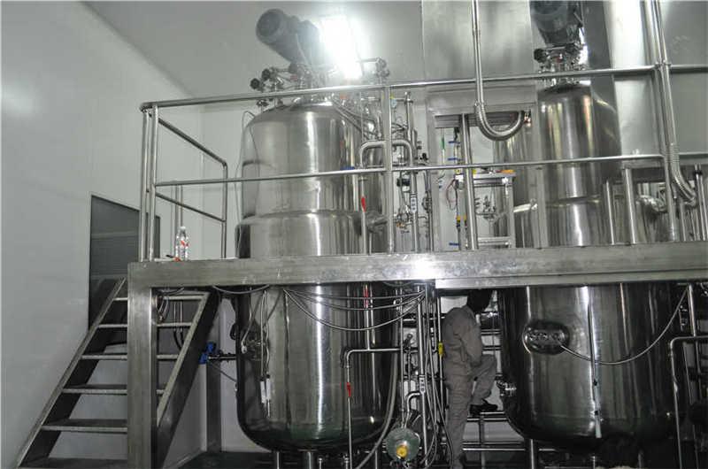 Sistema fermentador 4T 2 juegos (cumplen con los requisitos GMP)