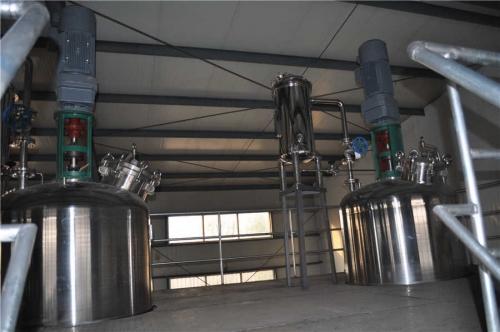 6 toneladas sistema de fermentación de producción