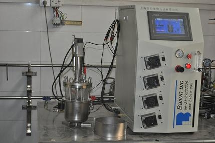 Biorreactor miniatura (la esterilización in situ 0,2 L-2L)