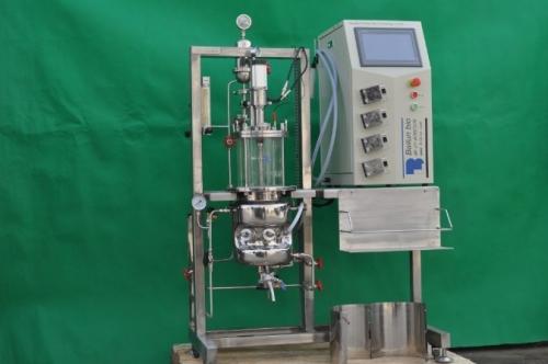Fermentadores de vidrio (Vertical esterilizados en agitación mecánica in situ)