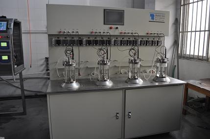 Biorreactor miniatura (1L Desktop 4 Unión)