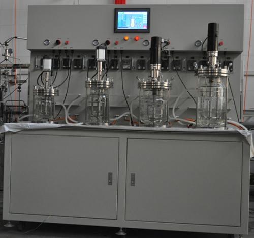 Fermentador armas de vidrio (multinivel)
