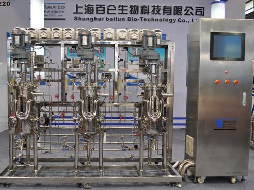 3 vinculado fermentador de laboratorio (15L)