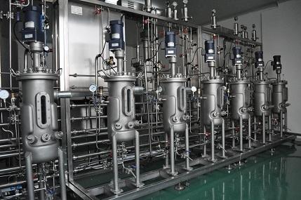 Seis de los tanque de fermentación de acero inoxidable (10L)