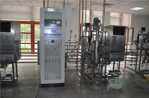 Fermentador automática (15L sistema que contiene el análisis de gases de escape)