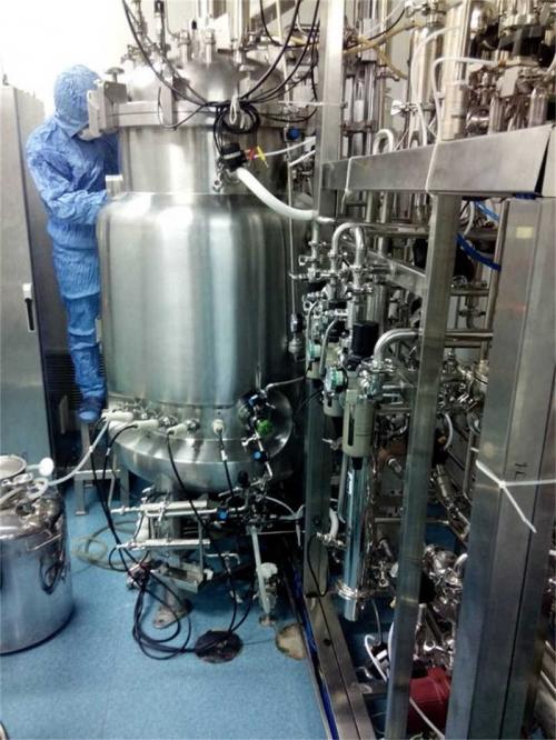 Vacunas (bacterias) fermentador (500L)